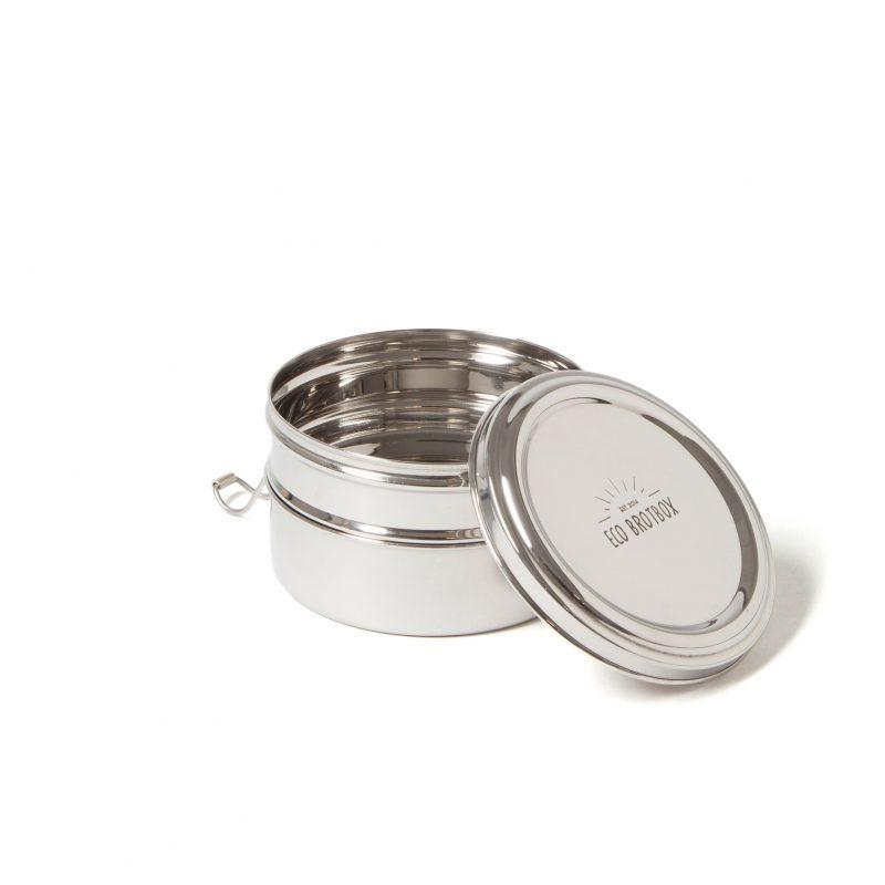 tiffin double zweilagige runde lunchbox