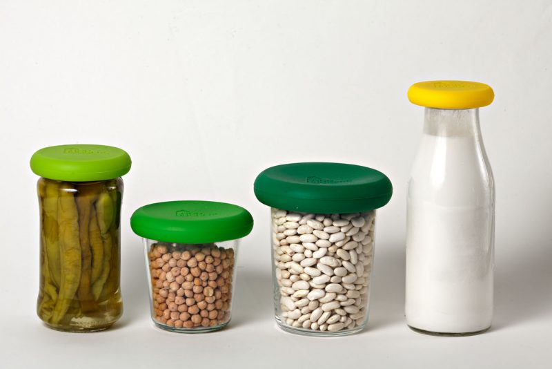 Fresh-Greens-on-Jars-photo-shows-set-of-four-