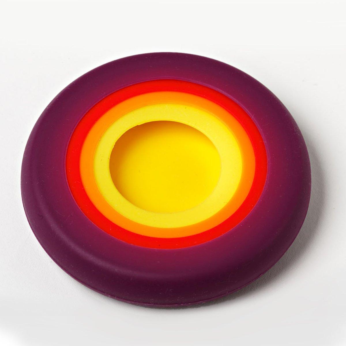silikon deckel set in herbstfarben 5erpack